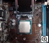 CPUをセットします。